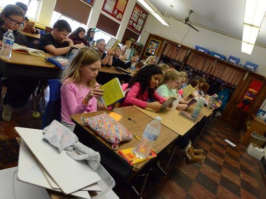 Fourth grade classrooms in Bloom-Carroll Intermediate