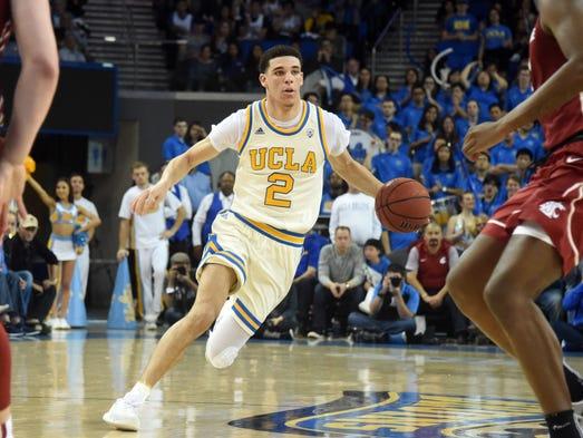 ucla lonzo ball basketball sports today usa player college teams american mason frank team ncaa kansas iii freshman richard fr