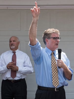 Attorneys Norman B. Berger (left) and Shawn M. Collins.