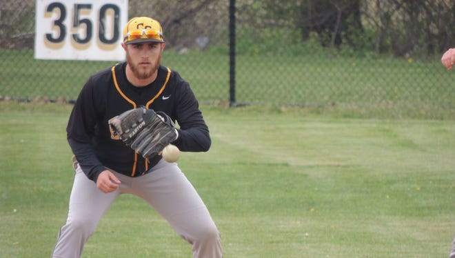 Colonel Crawford senior Derek Burkhart was named to the All-Northern 10 Conference second team on Monday afternoon