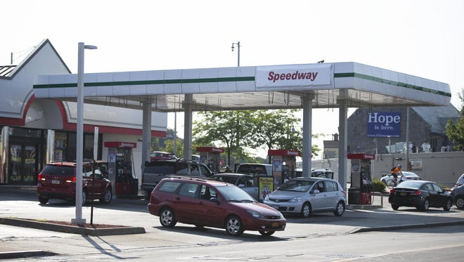 This gas station on the corner of East Avenue and Winton Road, which used to belong to Hess, was purchased by Speedway.