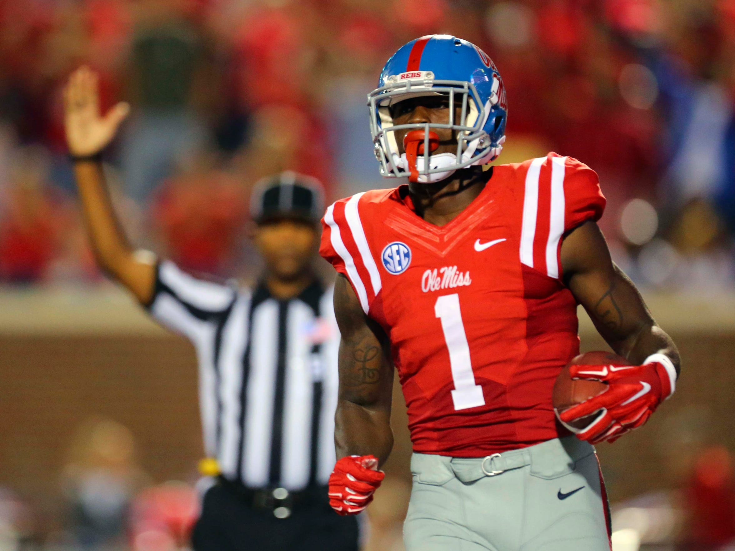 Mississippi wide receiver Laquon Treadwell (1)