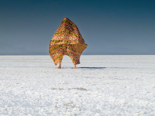 """A production still of """"Shatter"""" by Sanford Biggers"""