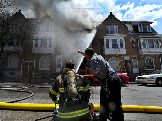 Three juvenile girls have been charged with arson in Monday's Walnut Street fire.