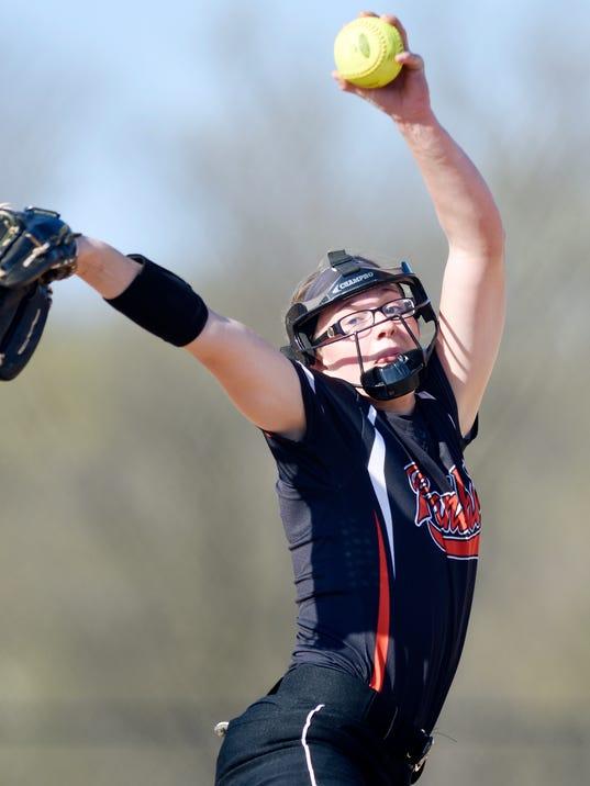 Spring Grove vs Central York softball
