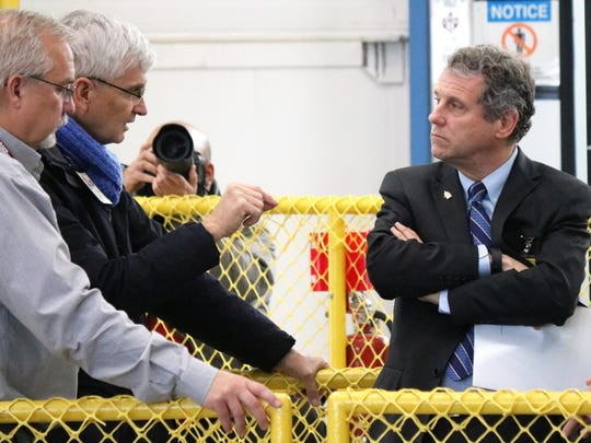 "U.S. Sen. Sherrod Brown said the Great Lakes Restoration Initiative needs to kept operating at ""full strength."""
