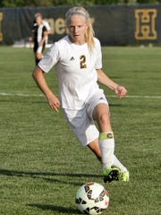Maddie Pogarch of Hartland made the 2015 All-State soccer Dream Team, the only Livingston County girl to do so since 2005.