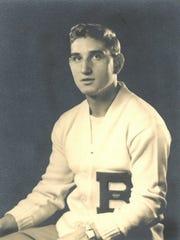 Joe Yanuzzi pictured in high school.