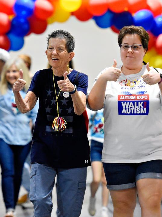 Autism York Walk