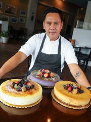 Executive Pastry Chef Raul Cordero poses for a photo