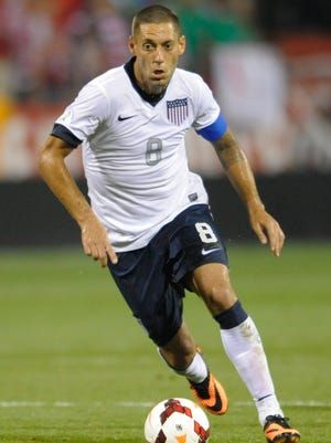 Clint Dempsey has scored 35 goals in his career with the U.S. national team.