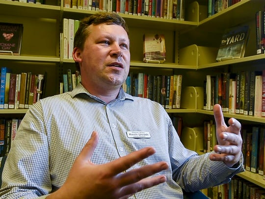 Kevin Unrath, library director of the Pierson Library