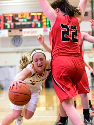 Old Fort's Alli Adelsperger was recognized honorable mention all-Ohio in Division IV.