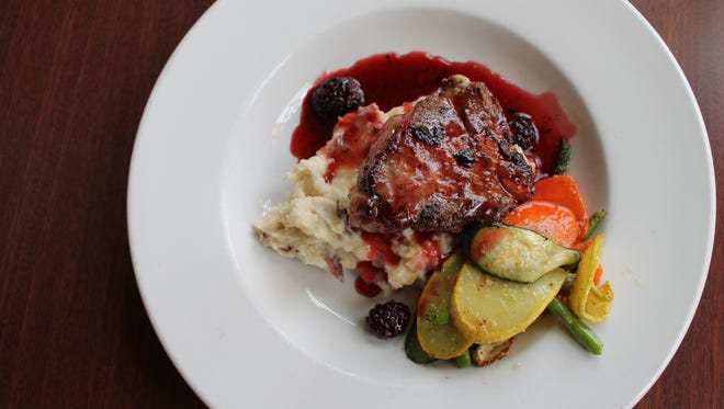 St. Brendand Inn's currant sauce could become the new mint jelly of lamb chops.
