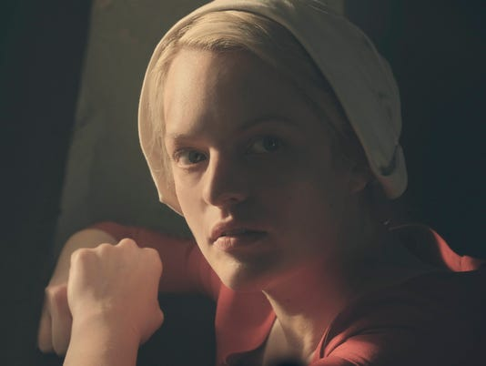 Best actress, drama: Elisabeth Moss, The Handmaid's Tale