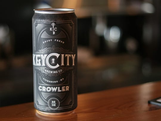 Key City Brewing Co. beer is available at Cottonwood Public House in Vicksburg. Patrons will soon have the opportunity to take home a growler of the most recent brews.