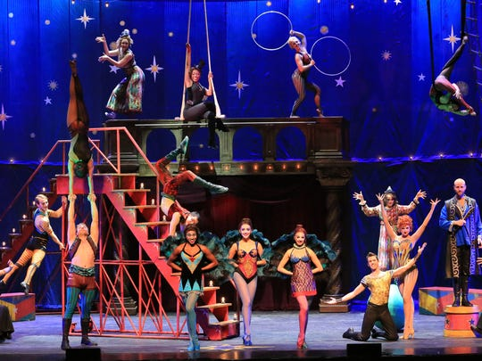 'Pippin' highlights both circus tricks and circus performers.