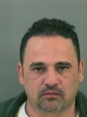 Alberto Aguilera: age: 48; height:5 feet, 5 inches; weight: 150 pounds; features:brown hair, brown eyes; charge: harassment of a public servant