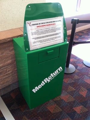 At the Colorado Springs Airport, police installed an amnesty box and as well as signs alerting passengers to the laws governing traveling across state lines with marijuana.