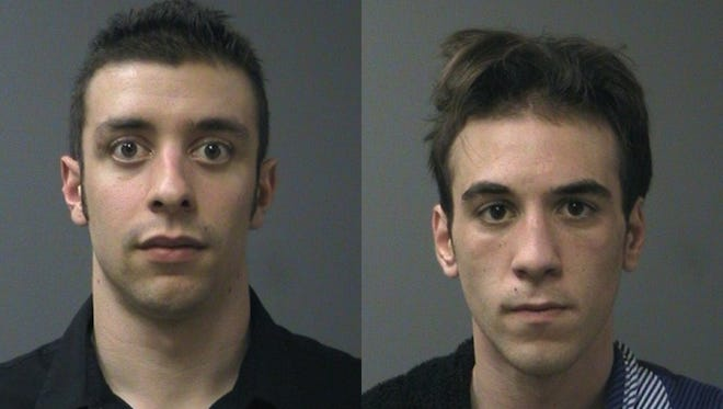 Jared Cappon, left, and Nicholas Caracci.