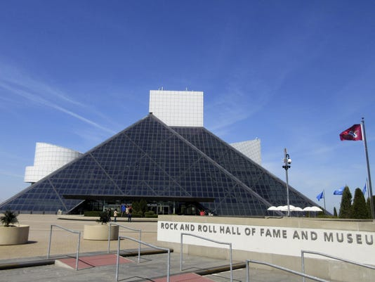 CORRECTION Music-Rock Hall Exhibit
