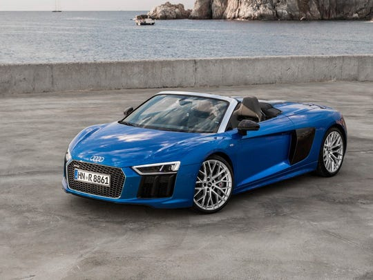The Audi R8 Spider will be at this year's Des Moines