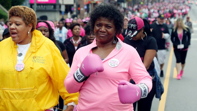 This year's Making Strides Against Breast Cancer walk is Saturday.