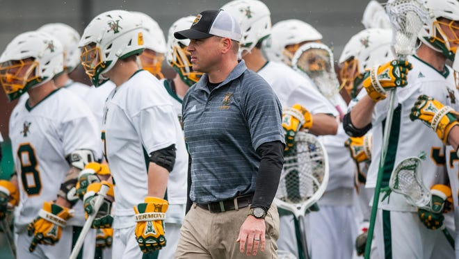 UVM men's lacrosse coach Ryan Curtis has stepped down to accept a position at Westminster School in Connecticut.