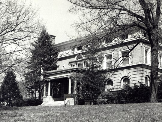 A 1940's image of the North Avondale home that was then known as Marion Hall. Xavier University used it as a dorm from 1943-1991.