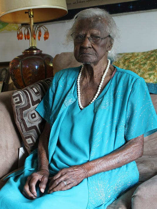 Oldest living American turns 115