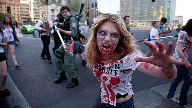 Don't miss the annual Zombie Walk, a main part of Phoenix Comicon.