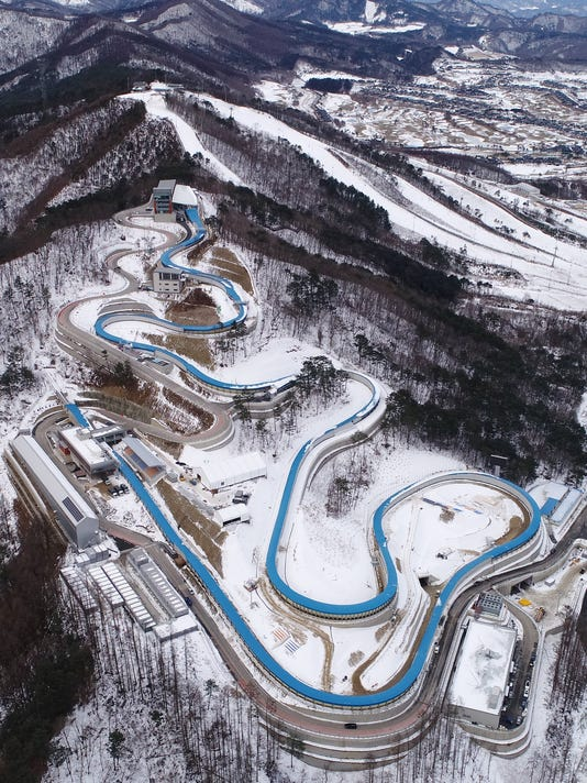 EPA SOUTH KOREA WINTER OLYMPICS VENUES SPO SPORTS EVENTS KOR GA