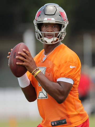 Buccaneers quarterback Jameis Winston is known nationally