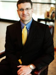 Todd Barnes, one of Larry Myers' attorneys