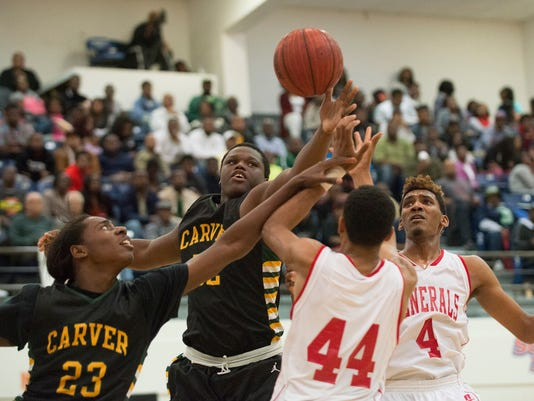 Boy's Baskeball: Lee vs. Carver