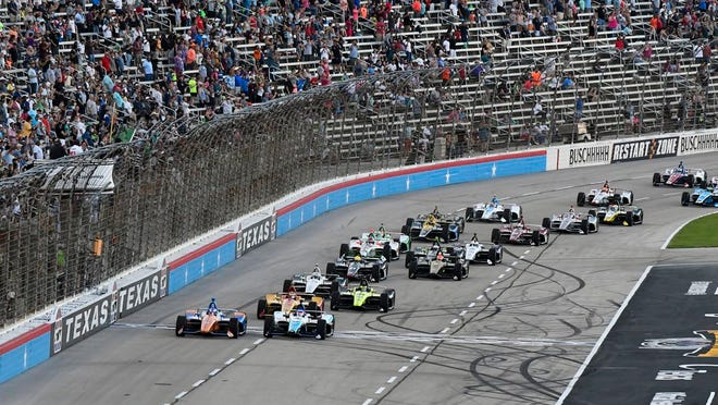 IndyCar is getting ready for an all-in-one-day season opener on the fast track in Texas, more than 2 ½ months after drivers were set to roll on the streets of St. Pete. LARRY PAPKE/AP