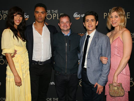"""Premiere Of ABC's """"For The People"""" - Arrivals"""