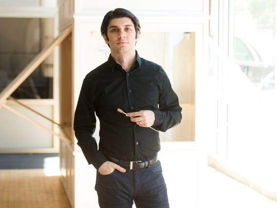 Knoxville Symphony Orchestra music director and conductor Aram Demirjian.