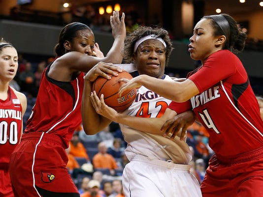 NCAA Womens Basketball: Louisville at Virginia