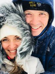 Jenn DuBrul and fiance Derek Foster live in Tuxedo Park.