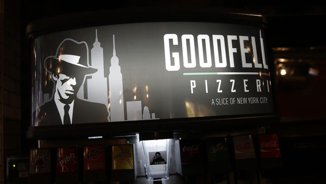 The fountain drink machine at Goodfellas Pizzeria, which opens on Main Street in Over-the-Rhine on Wednesday.