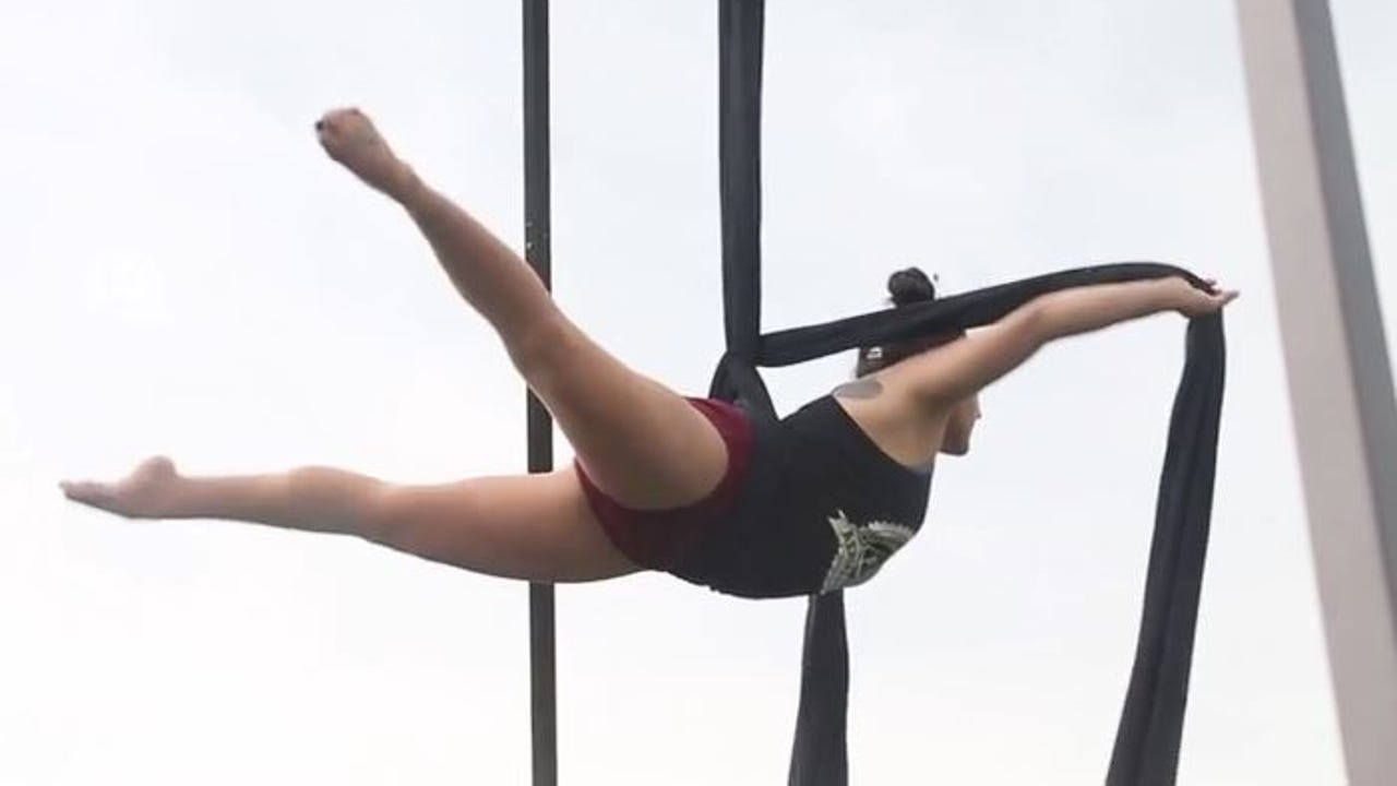 AnikolovArts and Live Beyond Limit hosted Circus in the Park in Spring Canyon Park Saturday. The event included hula hooping, juggling and an aerial rig for people of all ages.