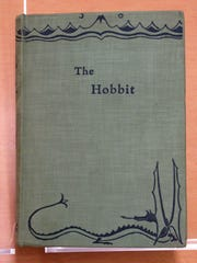A first-edition, first-printing copy of J.R.R. Tolkien's