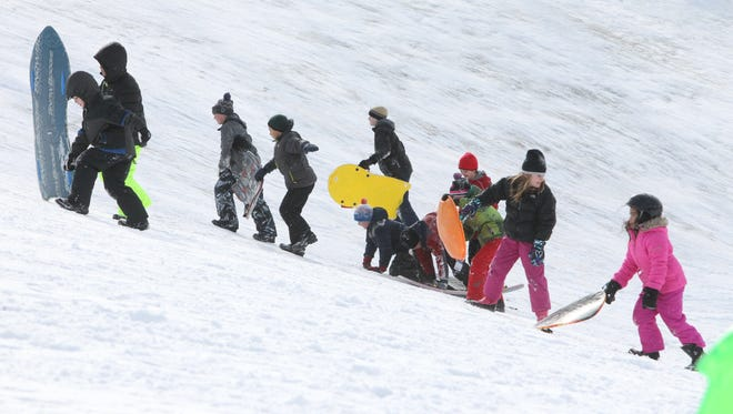 Sledding, cross country skiing, ice fishing and more are all available at local parks.