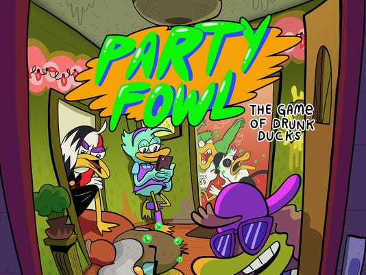 Party Fowl board game