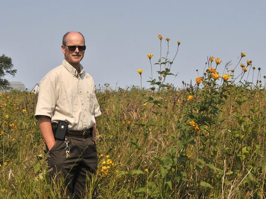 Scott Glup, project leader with the U.S. Fish & Wildlife