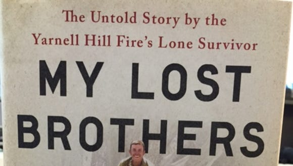 """From the cover of Brendan McDonough's book, """"My Lost"""