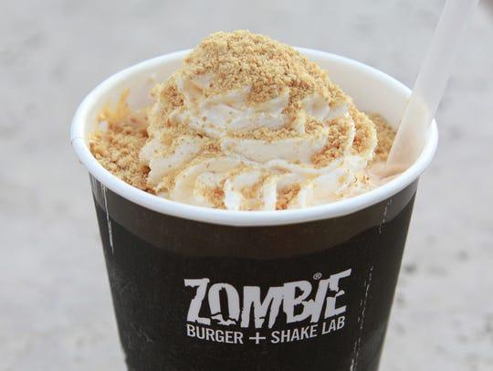 Pumpkin Pie Shake from Zombie Burger