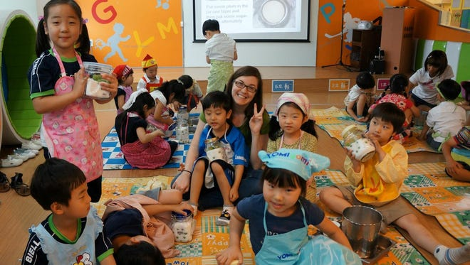 The TEFL program takes FSU students all over the world, teaching English to children.