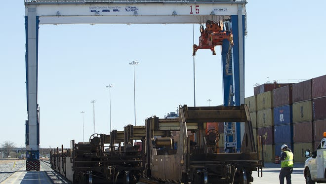 The Inland Port in Greer has been identified as a key asset for South Carolina as it tries to attract new industry to the state.